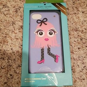 "Kate Spade iPhone case -""make a monster"""